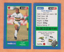 South African Cyril Nzama Kaizer Chiefs 11